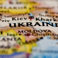 a map showing Ukraine